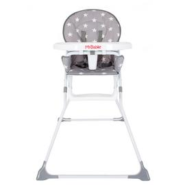 My Babiie Grey Star Compact Highchair