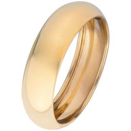 Revere 9ct Gold Rolled Edge Wedding Ring - 6mm