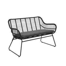 Argos Home Ross Rattan Effect Garden Bench
