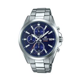 Casio Men's Edifice Chronograph Silver Bracelet Watch