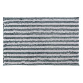 Argos Home Stripe Bath Mat - Blue & White