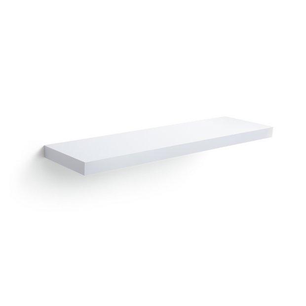 buy collection glenmore 80cm floating shelf high white. Black Bedroom Furniture Sets. Home Design Ideas