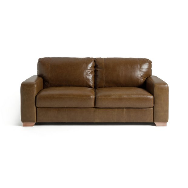 Buy Heart Of House Eton 3 Seater Leather Sofa