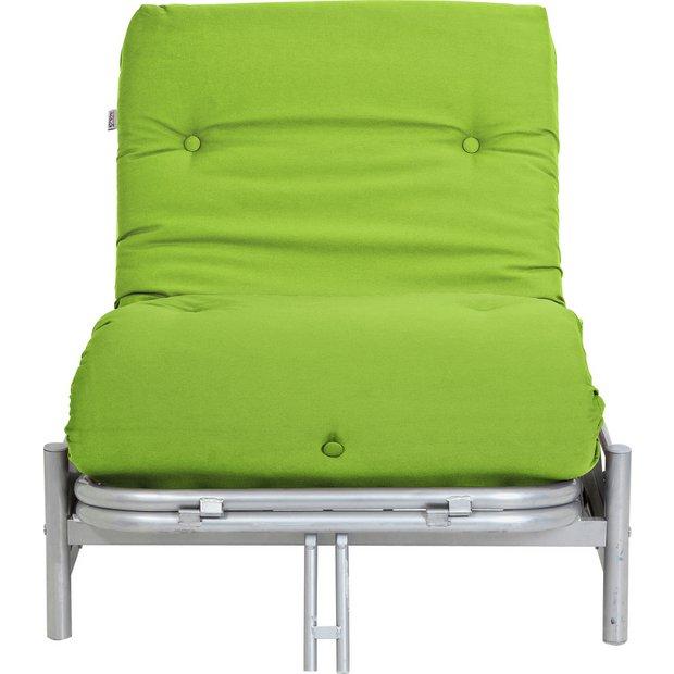 Buy Colourmatch Single Futon Sofa Bed And Mattress Apple
