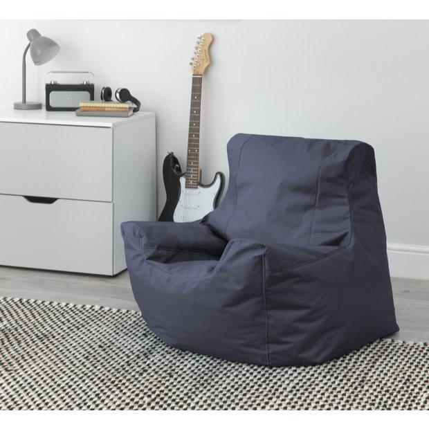 Buy Argos Home Large Black Teenager Bean Bag Bean Bags Argos