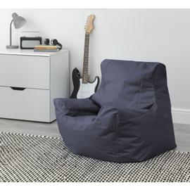Argos Home Large Black Teenager Bean Bag