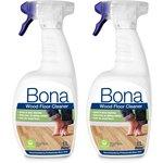 more details on Bona Wood Floor Cleaner Spray 2 1L Set.