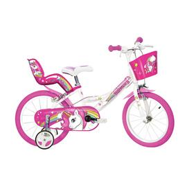 Dino Bikes Unicorn 14 Inch Kids Bike