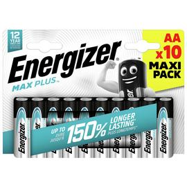 Energizer Max Plus AA Batteries - Pack of 10