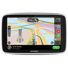 TomTom G0 Premium 5 In Sat Nav with World Maps,Traffic&WiFi