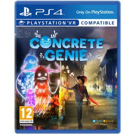 Concrete Genie PS4 Game (PS VR Compatible)