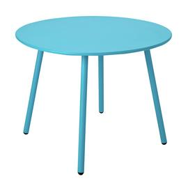 Argos Home Ipanema Round 4 Seater Garden Table - Blue