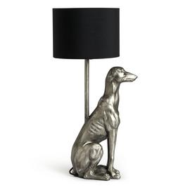 Argos Home Greyhound Table Lamp - Silver