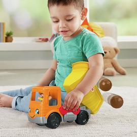 Fisher-Price World or Little People Dump Truck