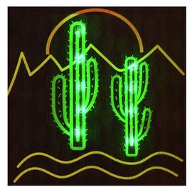 Innova Home LED Cactus Canvas