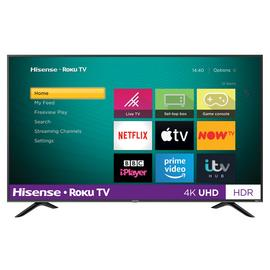 Hisense Roku 50 Inch R50B7120UK Smart 4K HDR LED Freeview TV