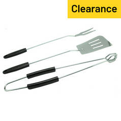 Simple Value BBQ Accessory Kit - 3 Piece