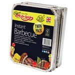 more details on Bar-Be-Quick Disposable Instant Charcoal BBQ - Twin Pack.