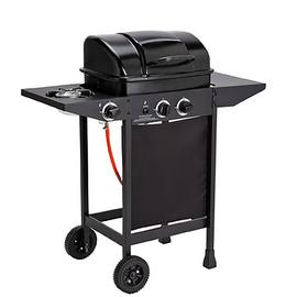 Argos Home 2 Burner Gas BBQ with Side Burner