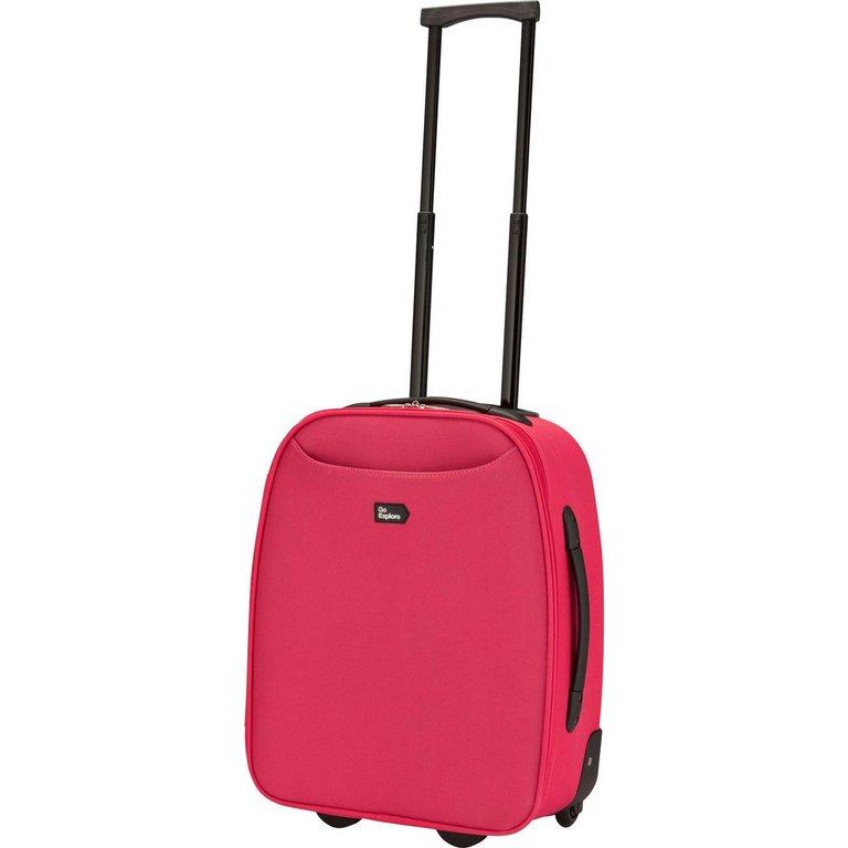 Buy Go Explore 2 Wheel Cabin Case - Pink at Argos.co.uk - Your ...