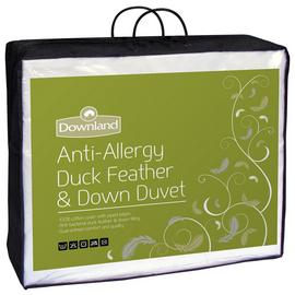 Downland 13.5 Tog Duck, Feather and Down Duvet - Double.