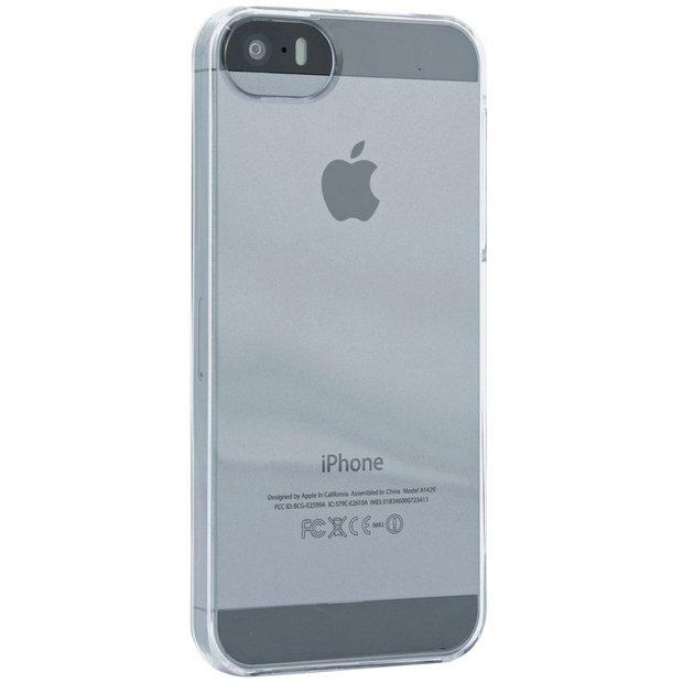 sale retailer 327fa 83136 Buy Proporta iPhone 5/5S/SE Phone Case - Clear   Mobile phone cases   Argos