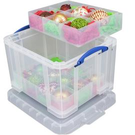Really Useful 35 Litre Bauble Box with 2 Trays