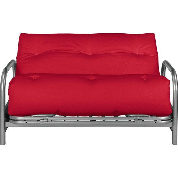 buy home mexico 2 seater futon sofa bed red sofa beds. Black Bedroom Furniture Sets. Home Design Ideas