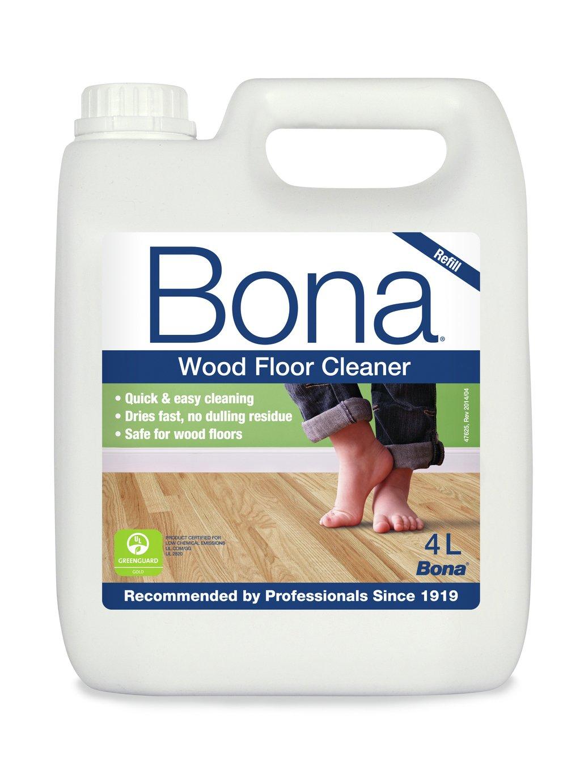 bona 4l wood floor cleaner refill