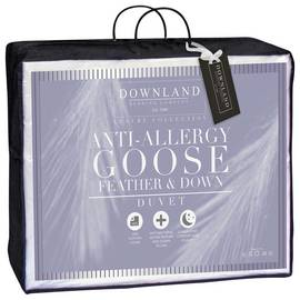0d4937890019 Downland 13.5 Tog Goose Feather and Down Duvet - Single