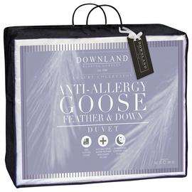 Downland 13.5 Tog Goose Feather and Down Duvet - Single