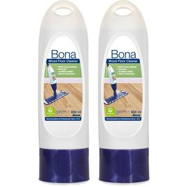 Bona 850Ml Wood Floor Cleaner Cartridges - Pack of 2