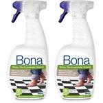 more details on Bona Stone,Tile and Laminate Floor Cleaner Spray 2 1L Set.