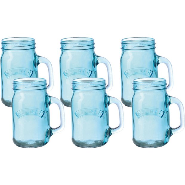 Buy Kilner Pack Of 6 Handled Jars