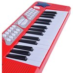 more details on Chad Valley Electronic Keyboard - Red.