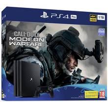 Sony PS4 Pro 1TB Console & COD: Modern Warfare Pre-Order