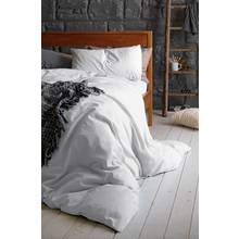 Heart of House 100% Cotton White Bedding Set - Double