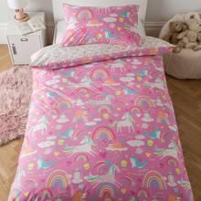 Argos Home Unicorn Bedding Set - Single