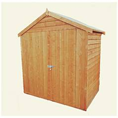 Homewood Overlap Wooden Shed - 4 x 6ft