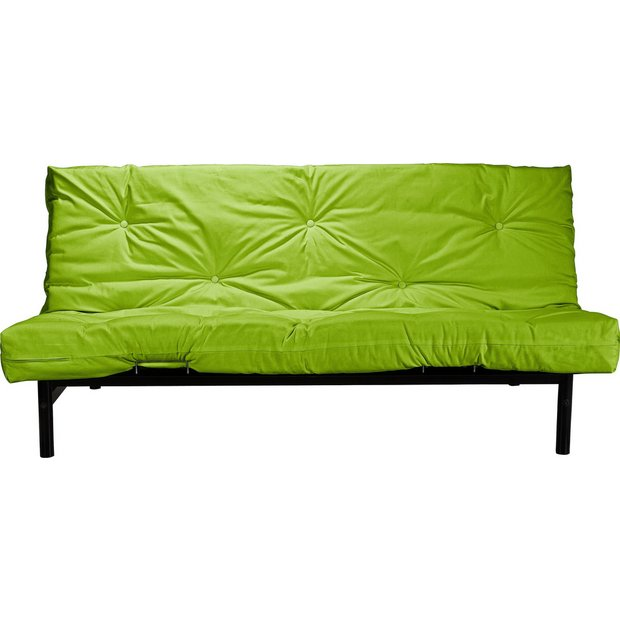 buy colourmatch clive 2 seater futon sofa bed apple green at your online shop. Black Bedroom Furniture Sets. Home Design Ideas