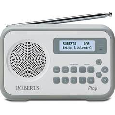 Roberts Radio Play Digital Radio - Grey