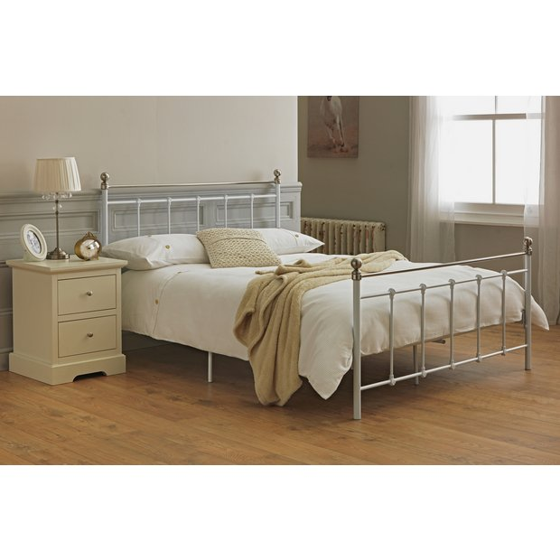 Buy Collection Eversholt Kingsize Bed Frame White At Your Online Shop For Bed
