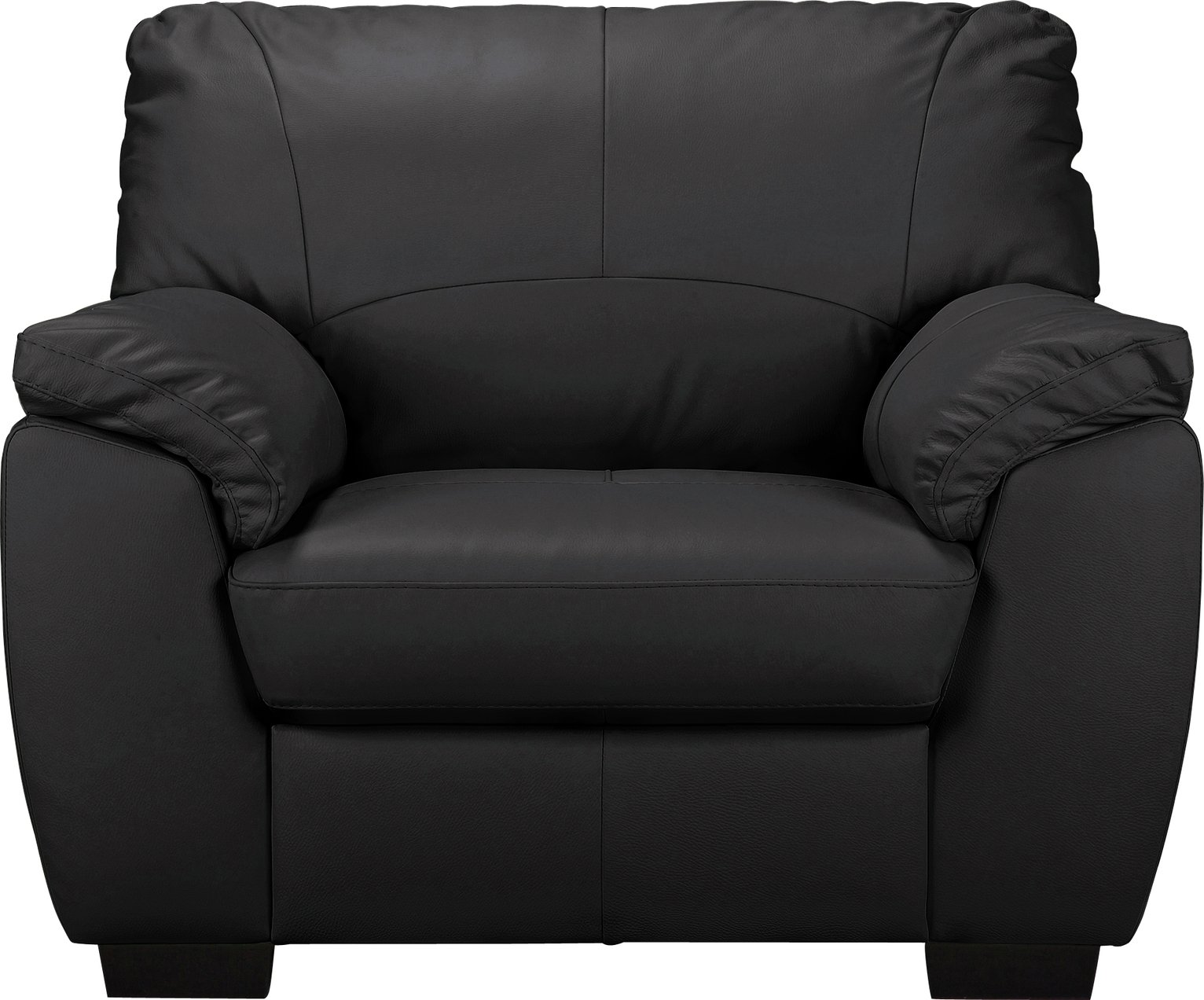 Etonnant Buy Argos Home Milano Leather Armchair   Black | Armchairs And Chairs |  Argos