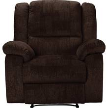 Collection Shelly Fabric Manual Recliner Chair - Dark Brown