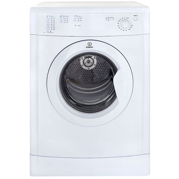 Buy Indesit Eco-Time IDV75W 7KG Vented Tumble Dryer - White | Tumble ...