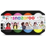 more details on Snazaroo 18ml Face Paints Palette.