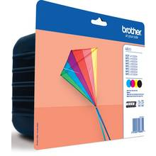Brother LC223 Ink Cartridges - Black & Colour