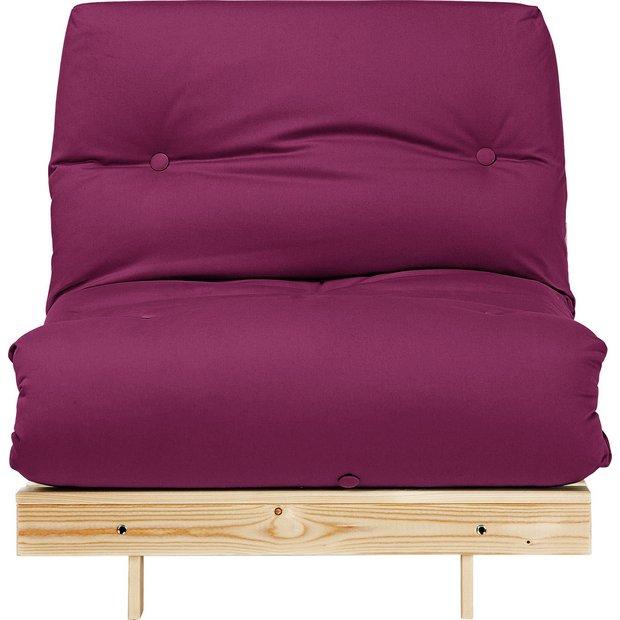 Buy Colourmatch Single Futon Sofa Bed With Mattress