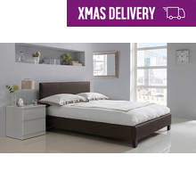 HOME Constance Kingsize Bed Frame - Chocolate