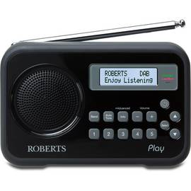 Roberts Radio Play Digital Radio - Black